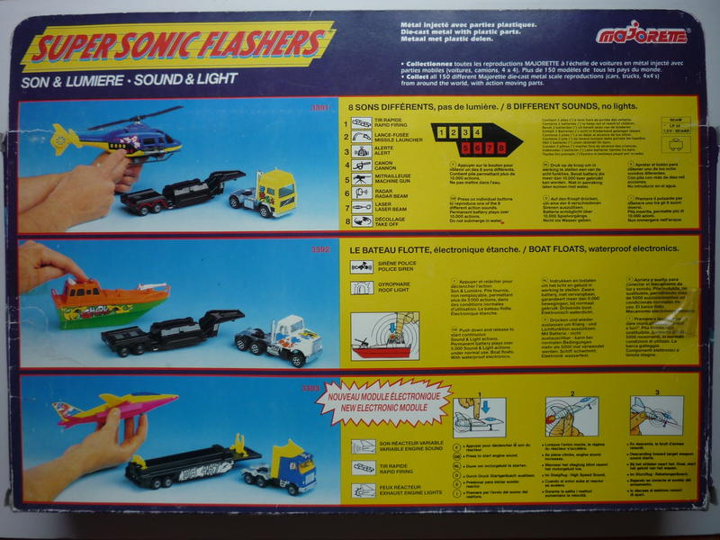 "N°3391 Plane Transporter ""Super Sonic Flashers"" 22963983lw"