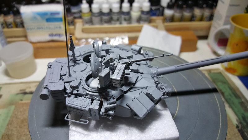T-90  ( Zvezda Maßstab 1:35 ) 23267790kh