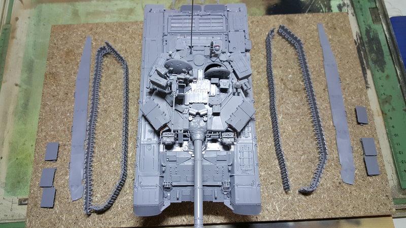 T-90  ( Zvezda Maßstab 1:35 ) 23290066so