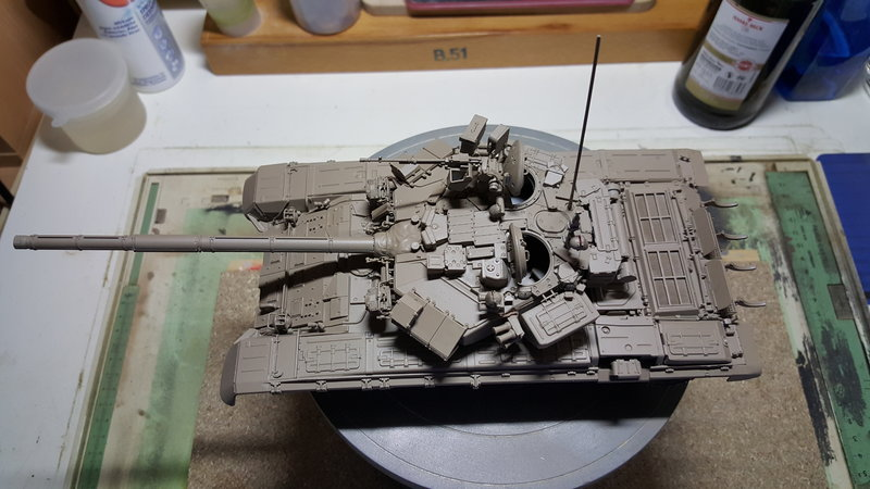 T-90  ( Zvezda Maßstab 1:35 ) 23309100qs
