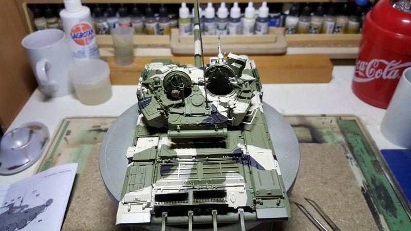 T-90  ( Zvezda Maßstab 1:35 ) 23378833wk