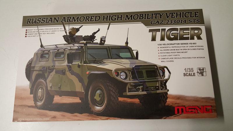 """Russian GAZ-233014 STS """"Tiger"""" 23694200gx"""