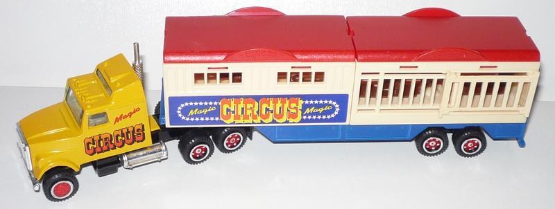 N°611 White Semi Remorque Cirque   23696990le