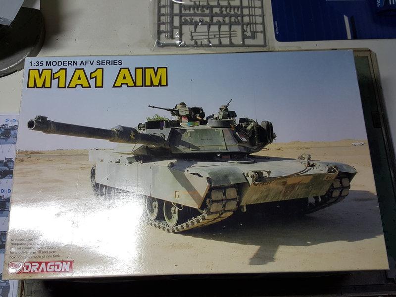 M1A1 Abrams AIM von Dragon 1:35 23871400ij