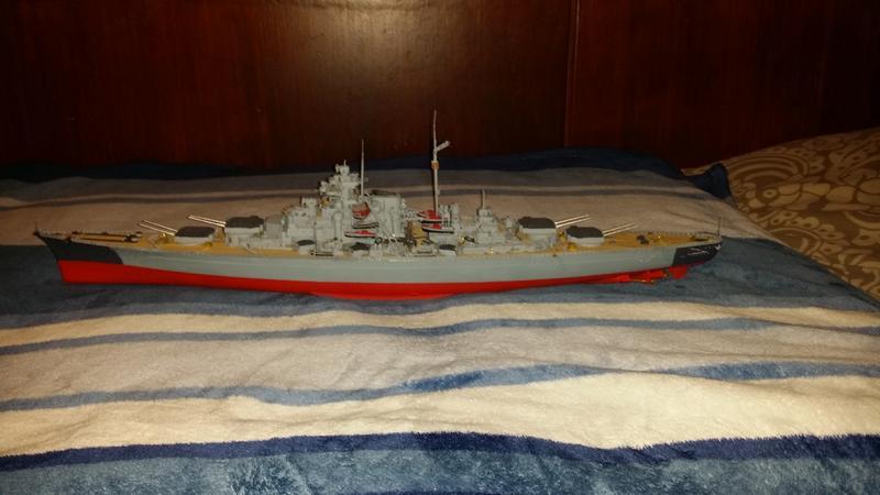 Mein erstes Modell mit Ätzteilen - Bismarck, Revell 1:350 23962855or