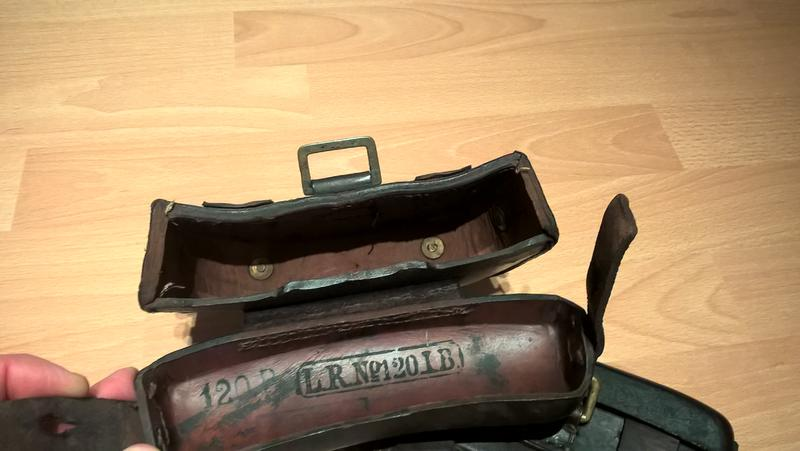 CARTOUCHIERE 1887 ? WW1 pour Mauser ? 25352244lb