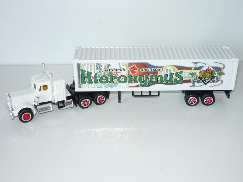 N°604 Kenworth + semi remorque container  ( version lisse ) 25464784gh
