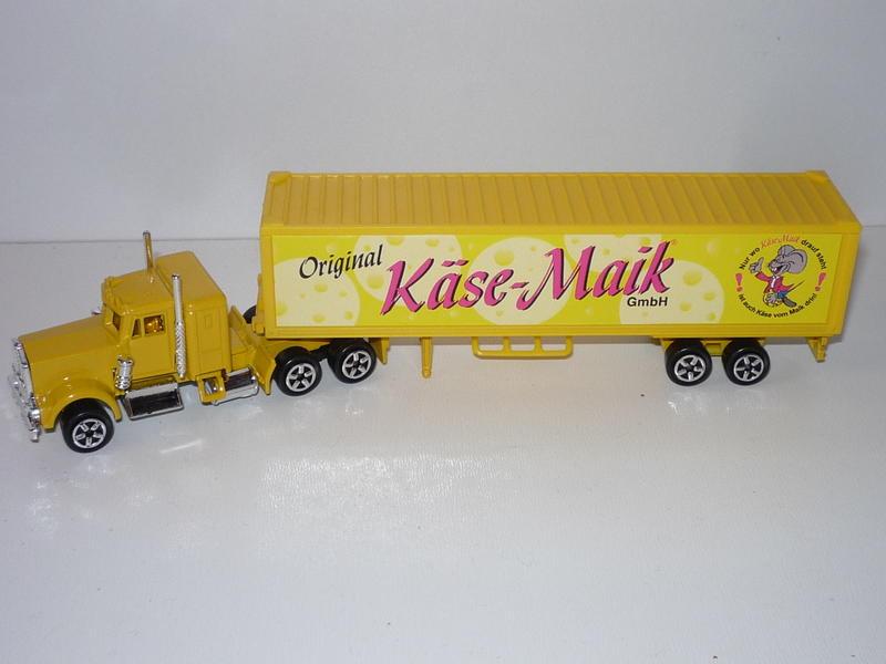 N°604 Kenworth W900 + Semi Container 25707944iz