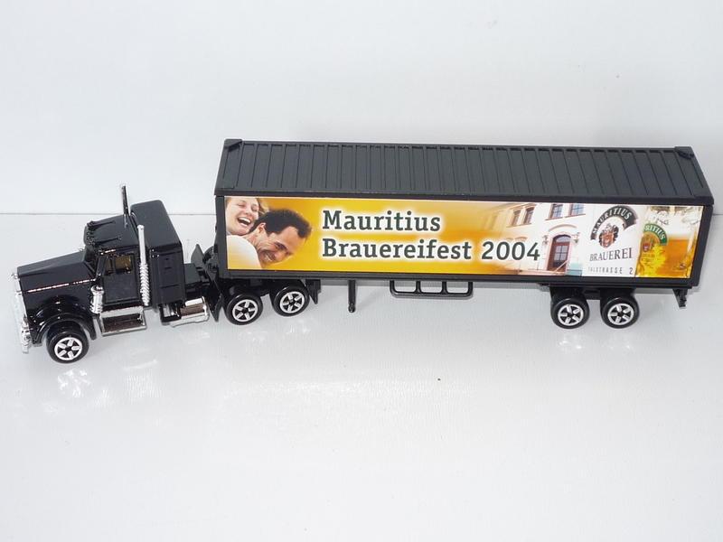 N°604 Kenworth W900 + Semi Container 25822968ww