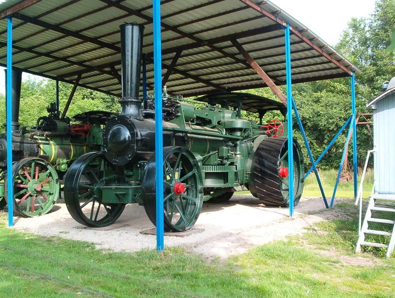 Lokomobile und Pflug im Moormuseum Groß Hesepe 26784016sh