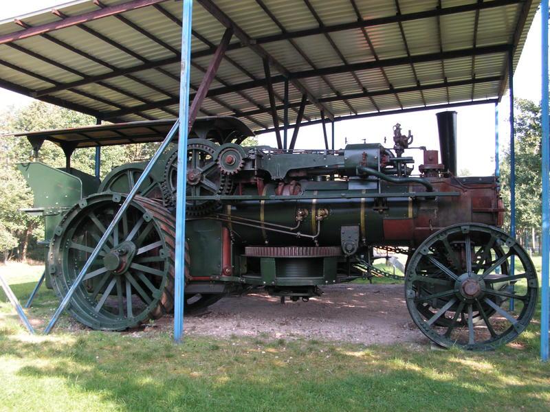 Lokomobile und Pflug im Moormuseum Groß Hesepe 26784026iy