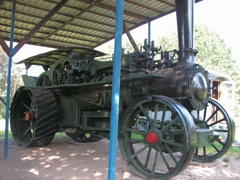 Lokomobile und Pflug im Moormuseum Groß Hesepe 26784044me
