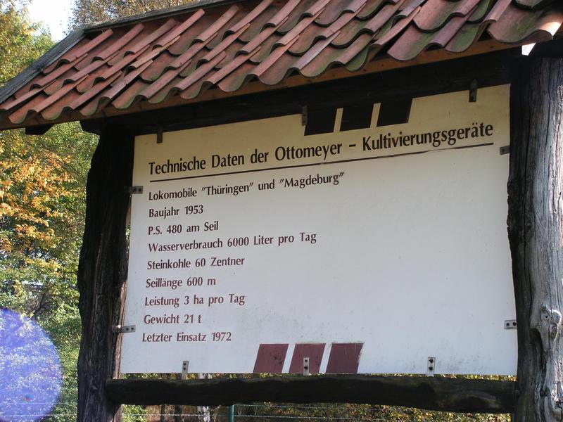 Lokomobile und Pflug im Moormuseum Groß Hesepe 26784058rq