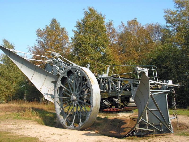 Lokomobile und Pflug im Moormuseum Groß Hesepe 26784117en