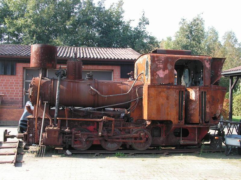 Lokomobile und Pflug im Moormuseum Groß Hesepe 26784168rm