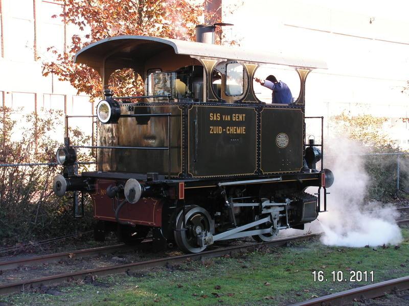Najaarsstoomdag Haaksbergen 2011 - Eisenbahn Teil 1 27007150lr