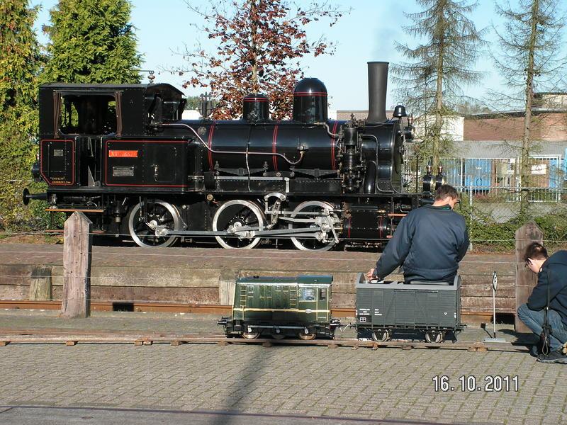Najaarsstoomdag Haaksbergen 2011 - Eisenbahn Teil 1 27007250he