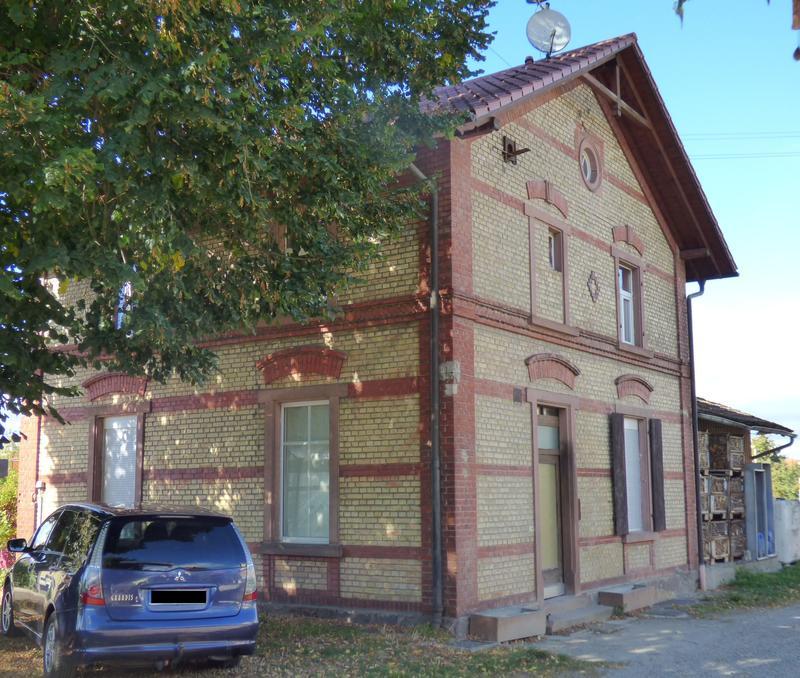 SWEG Bahnhofsgebäude Jechtingen  27176007sr