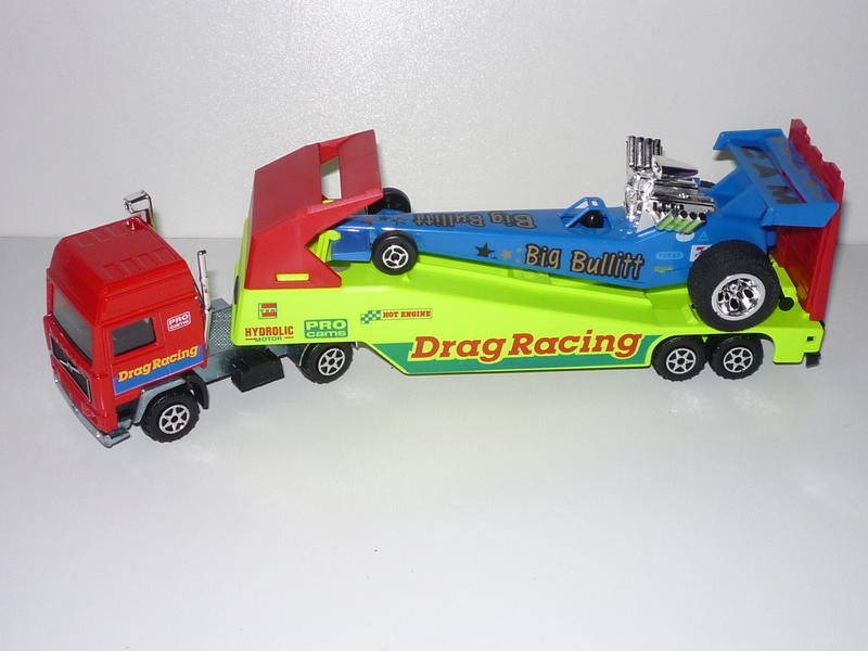 N°3075 Volvo Transport Dragster 27180384jc