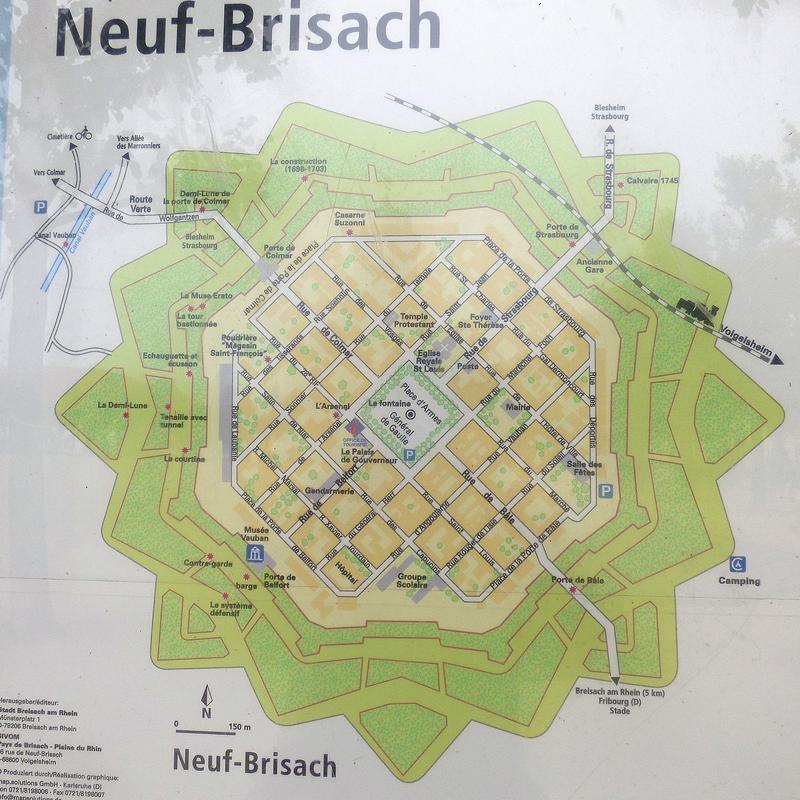 Die Festung Neuf Brisache = Neu Breisach 27258617ke