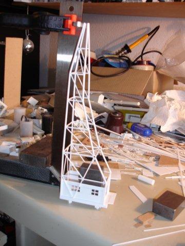 Baustufenbilder eines Hafenkran in H0 27934795gz