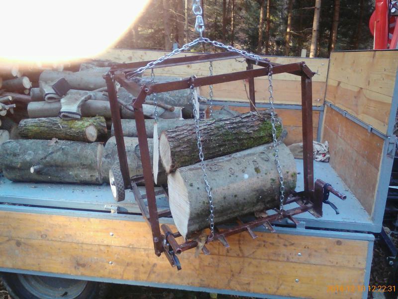 Kako utovariti   drva u šumi bez velike muke i malo novca ? 28039940ow