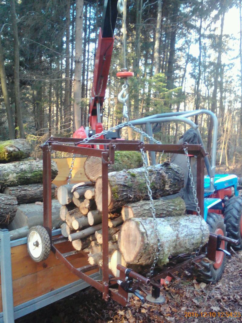 Kako utovariti   drva u šumi bez velike muke i malo novca ? 28039948ru