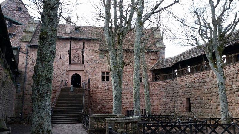 Ein kleiner Vorgeschmack auf Château du Haut-Kœnigsbourg/Elsaß 28462778jb