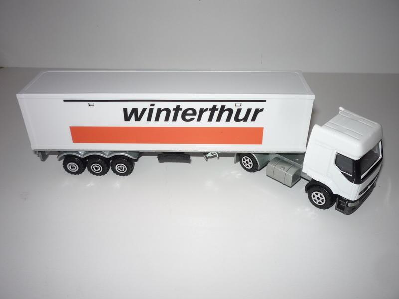 "N°3055 Renault Premium 1x 40"" Container 28822358gh"