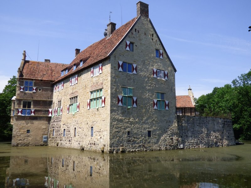 Rundgang um Burg Vischering in Lüdinghausen 29500047gm