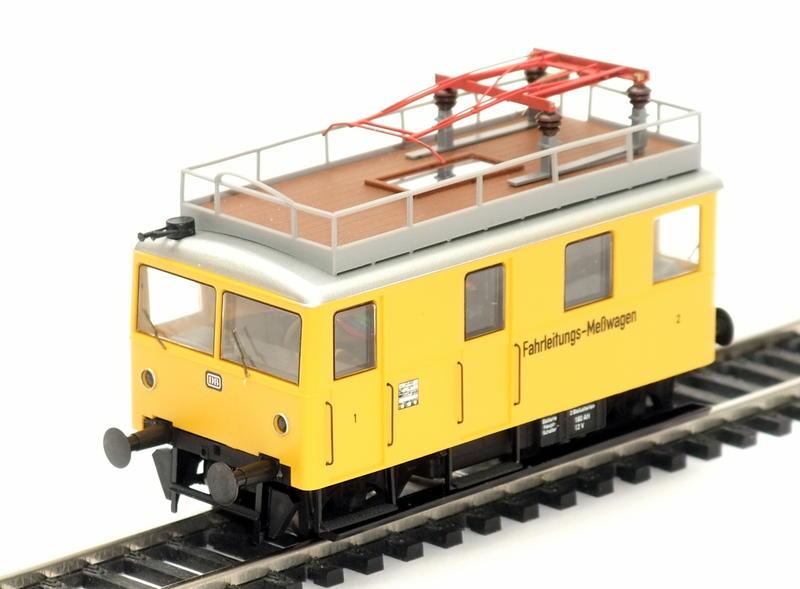 Umbau Brawa KLv 60.9001 Fahrleitungs-Messwagen mit Sounddecoder 29614036cx