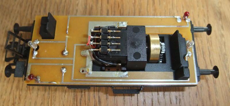Umbau Brawa KLv 60.9001 Fahrleitungs-Messwagen mit Sounddecoder 29614037pm