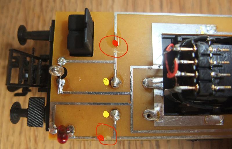 Umbau Brawa KLv 60.9001 Fahrleitungs-Messwagen mit Sounddecoder 29614069en
