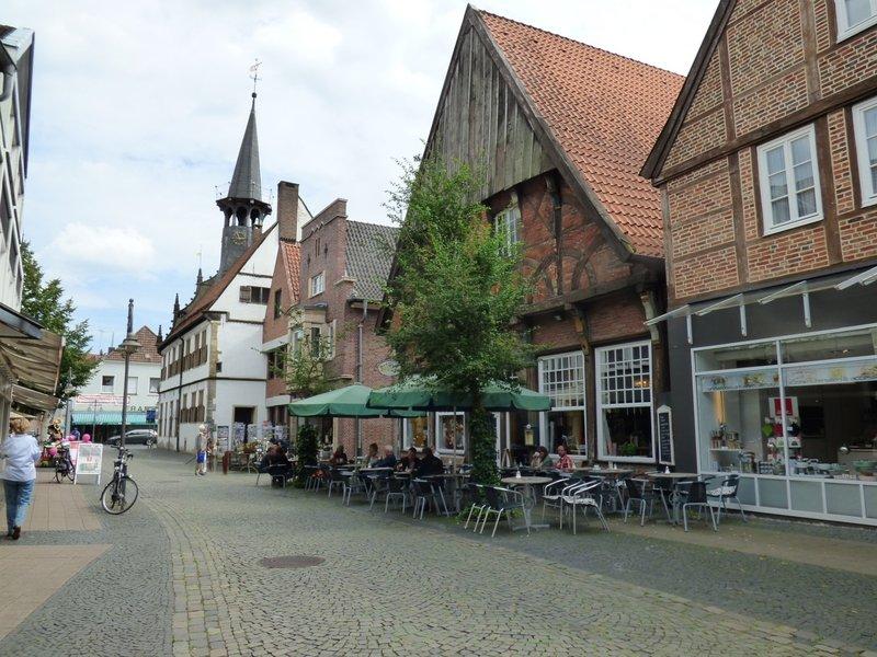 Burgsteinfurt, Bahnhof, Stadt und Schloß 29705674ke