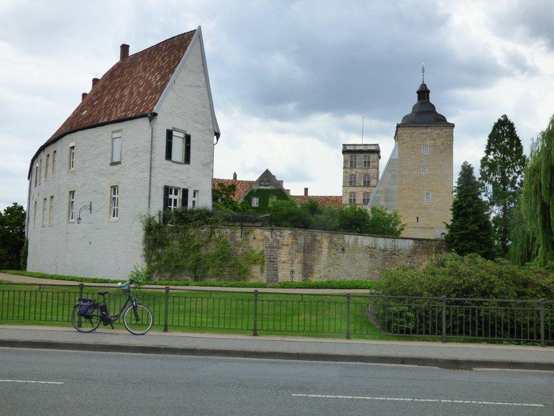 Burgsteinfurt, Bahnhof, Stadt und Schloß 29705709ws