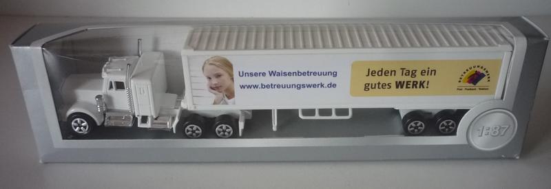 N°604 Kenworth W900 + Semi Container 29847275hv