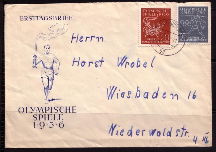 Schöne Briefe und Belege der DDR 2995867