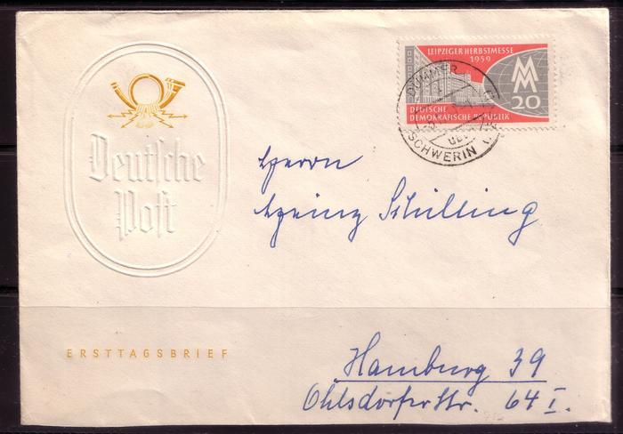 Schöne Briefe und Belege der DDR 2995869