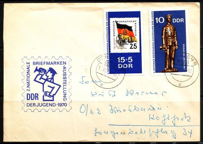 Schöne Briefe und Belege der DDR 2995871
