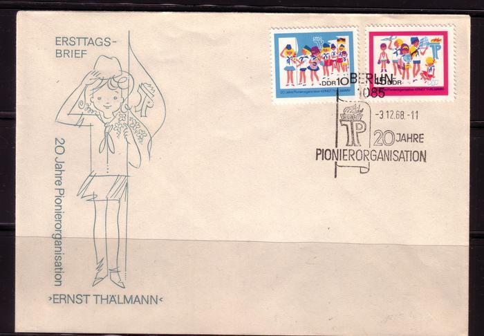 Schöne Briefe und Belege der DDR 2995875