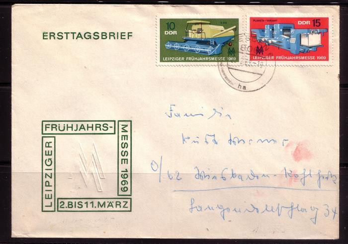 Schöne Briefe und Belege der DDR 2995879