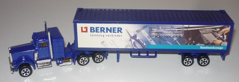 N°604 Kenworth W900 + Semi Container 31164646ku
