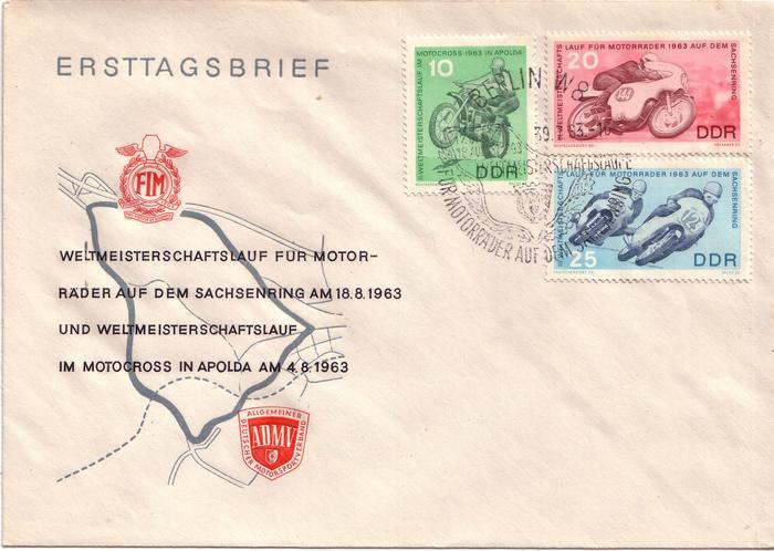 Schöne Briefe und Belege der DDR 3123259