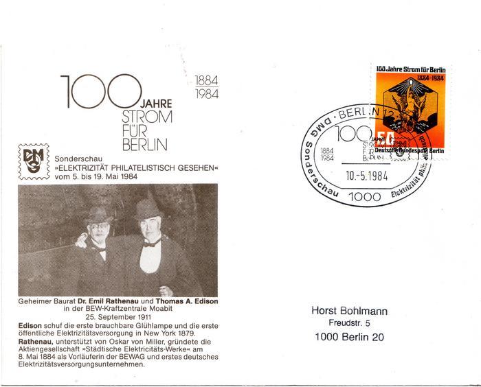 Schöne Briefe und Belege aus Berlin 3123348