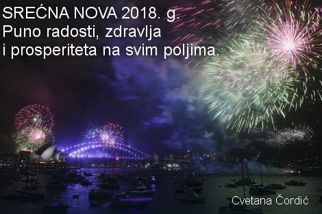 Srecna Nova 2018 godina 31396199wz