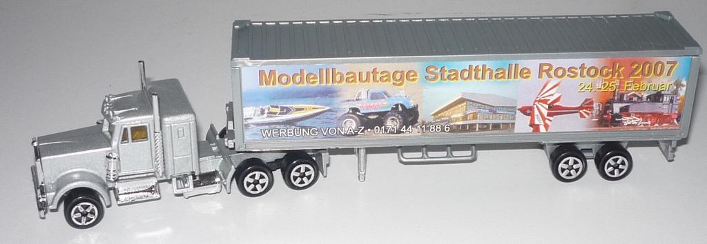 N°604 Kenworth W900 + Semi Container 33061183xz