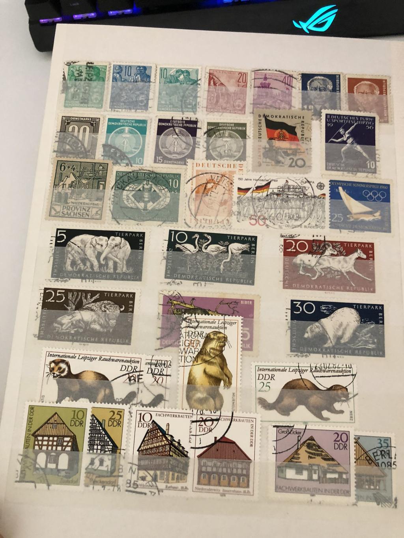 Briefmarken aus Nachlass 33468068kj