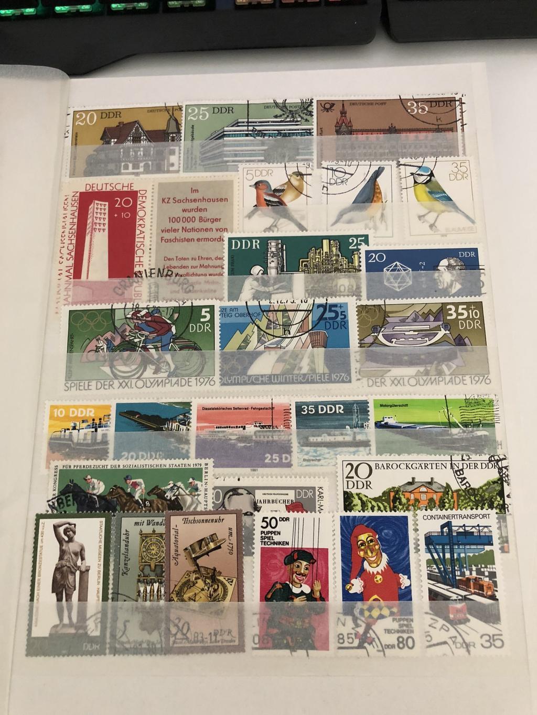 Briefmarken aus Nachlass 33468126jh