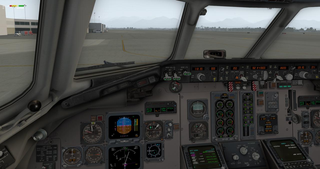 Mit der Default MD-82 von Anchorage nach Ketchikan 33962339rx