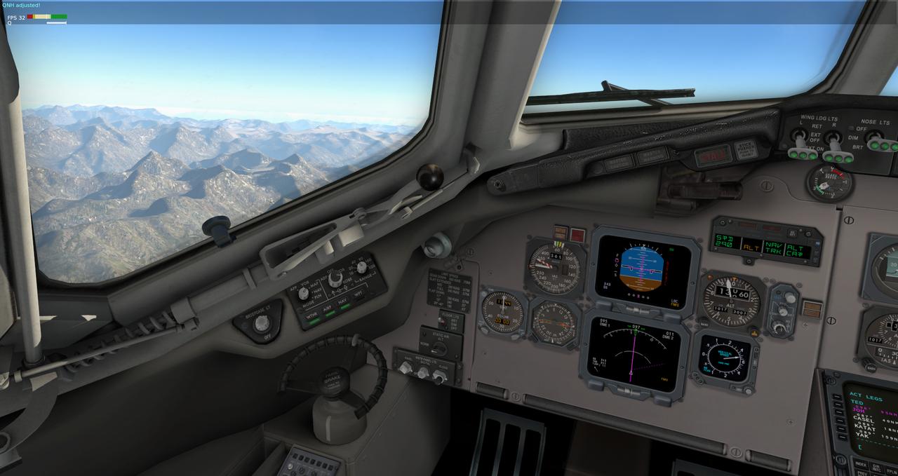Mit der Default MD-82 von Anchorage nach Ketchikan 33962346xr